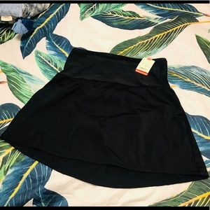 Swimming black skirt